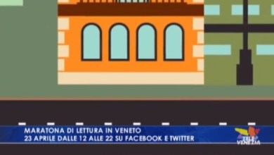 Photo of Maratona di lettura in Veneto: 23 aprile su Facebook e Twitter