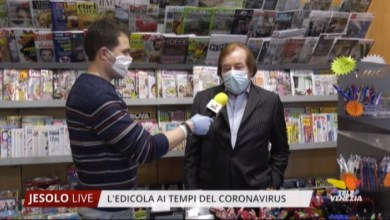 Photo of Edicola di Jesolo ai tempi del coronavirus