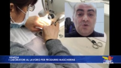 Photo of Laboratori al lavoro per produrre mascherine