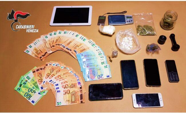 Eraclea, in casa con la droga e 6mila euro: pusher arrestato - Televenezia