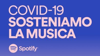 "Photo of Spotify lancia ""Covid-19 Sosteniamo la Musica"""