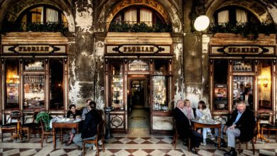 Caffè Florian in Piazza San Marco riapre il 12 giugno
