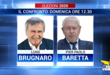 Photo of Confronto Brugnaro – Baretta in diretta su Televenezia