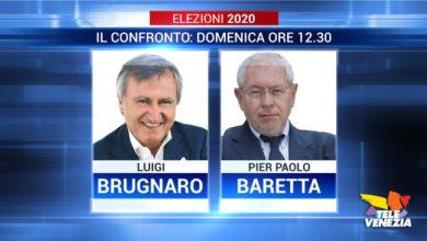 Confronto Brugnaro - Baretta in diretta su Televenezia - Televenezia