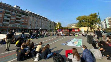 Fridays for future: gli studenti manifestano a Mestre