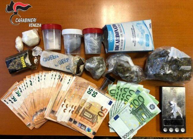 "Marghera, arrestato spacciatore: in casa cocaina, hashish e ""maria"" - Televenezia"