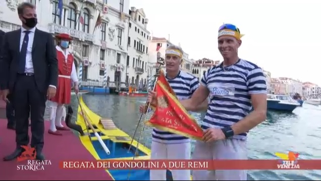 Photo of Regata Storica 2020: vincono Andrea Bertoldini e Mattia Colombi