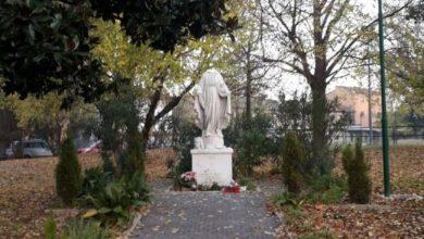 Statua della Madonna a Marghera