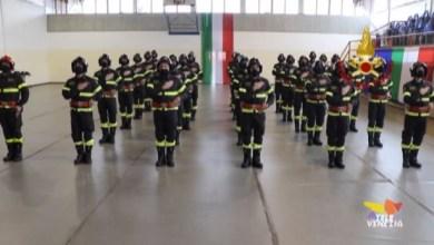 Vigili del fuoco: giuramento in streaming per 28 allievi