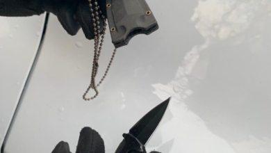 Coltello nascosto nella collana: denunciato un ragazzo a Mestre di un'arma da taglio