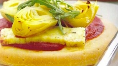 Pizzette con Rucola e Carciofi