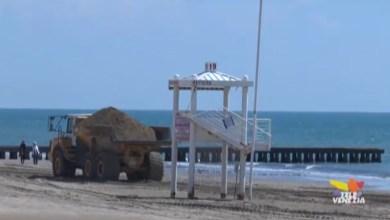 Ripascimento delle spiagge per la stagione balneare
