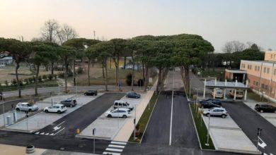 Jesolo: la presentazione del nuovo piazzale dell'Ospedale