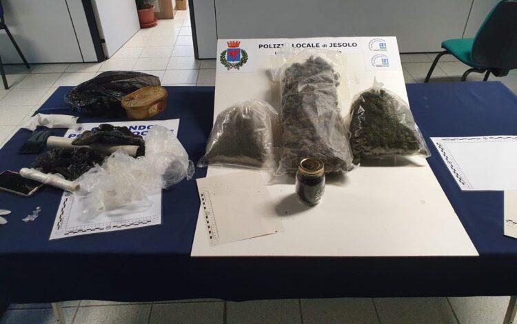 Jesolo: polizia arresta due persone per spaccio di droga