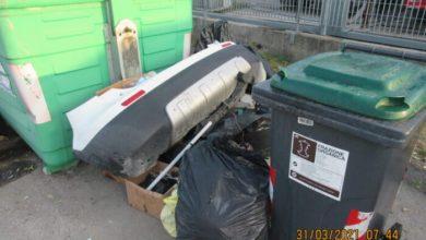 Spinea: Titolare officina multato per abbandono rifiuti