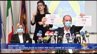 VIDEO: Zaia: seconda dose ai turisti per rilanciare il turismo in Veneto - TeleVenezia
