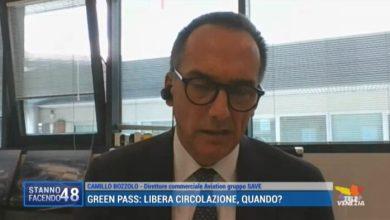 """VIDEO: Bozzolo: """"Perché ci sia ripresa degli aeroporti bisogna essere positivi"""" - TeleVenezia"""