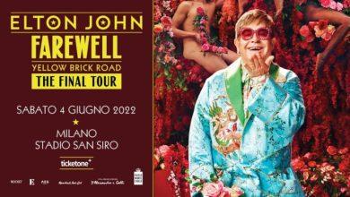 Elton John: allo Stadio di San Siro l'ultimo show italiano