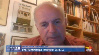 VIDEO: Gli artigiani nel futuro di Venezia: parla Saverio Pastor - TeleVenezia