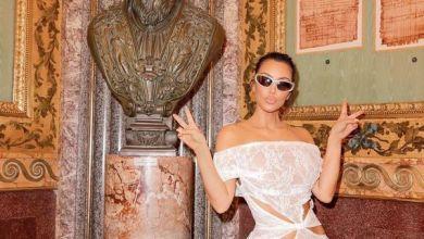 Kim Kardashian: abito in pizzo al Vaticano