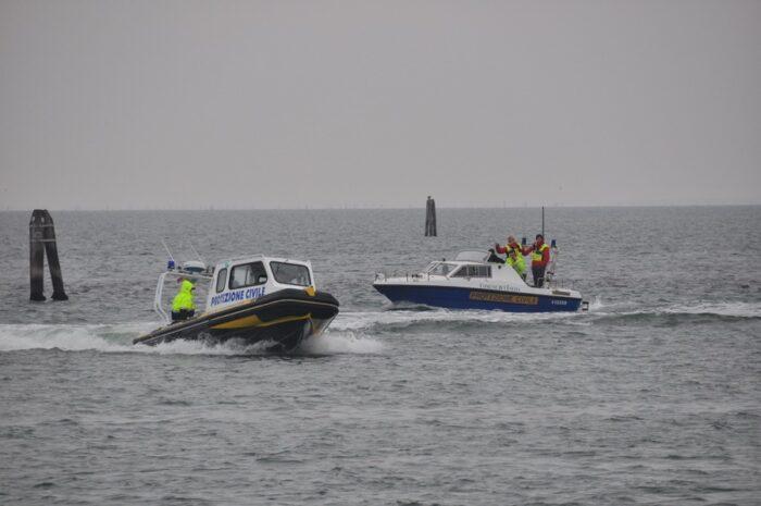 Redentore 2021: protezione civile di Venezia in prima linea
