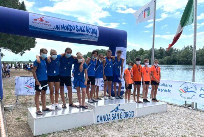 Canoa Club San Donà: due vittorie nella gara di San Giorgio di Nogaro - TeleVenezia