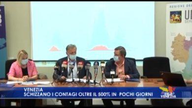 VIDEO: Venezia: schizzano i contagi, oltre il 500% in pochi giorni - TeleVenezia