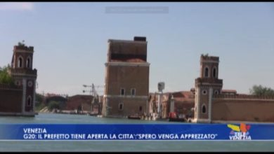 G20 a Venezia: il prefetto tiene aperta la città garantendo la sicurezza