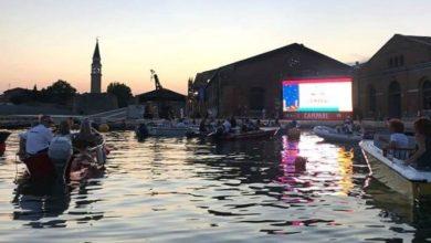 Barch-in, il cinema all'aperto in barca torna all'Arsenale dal 24 al 31 luglio