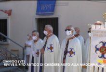 Zianigo di Mirano: rivive il rito antico di chiedere aiuto alla Madonna