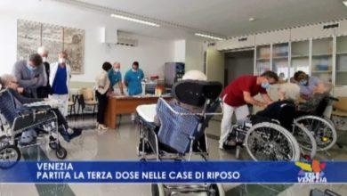 Terza dose nelle Case di Riposo dell'Ulss3 Serenissima