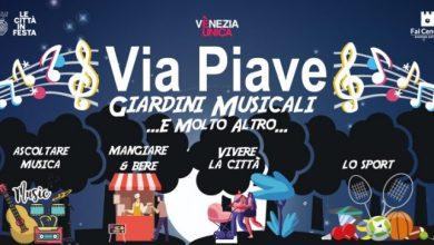 Giardini musicali di via Piave: continua l'iniziativa anche a settembre