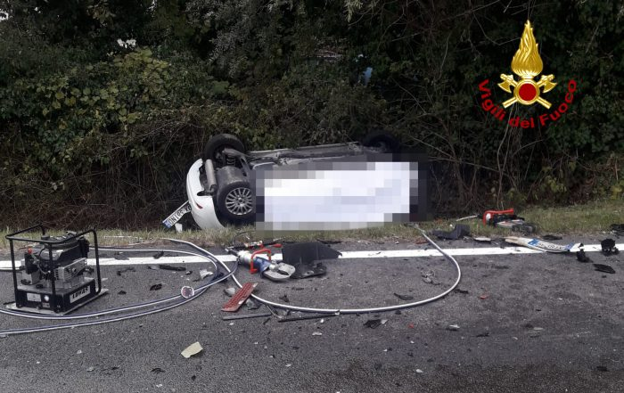 Incidente frontale tra auto e camion a Spinea: deceduto l'automobilista - Televenezia