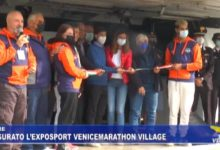 Mestre: inaugurato 30° Exposport Venicemarathon Village