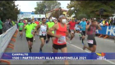 Campalto: 1500 i partecipanti alla Maratonella 2021