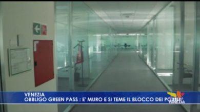 VIDEO: Obbligo del Green Pass - TeleVenezia