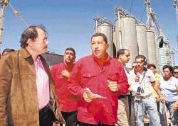チャベス、オルテガ両大統領