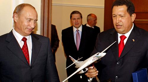 チャベスとプーチン