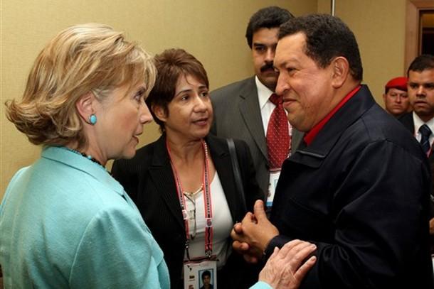 チャベスとヒラリー