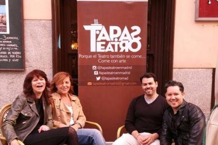 Artistas venezolanos se unen a la cultura en Madrid con TapasTeatro