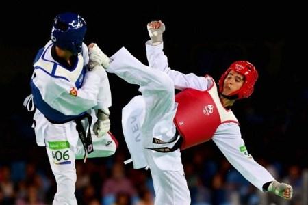 Édgar Contreras gana diploma olímpico en Taekwondo