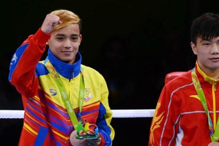 Finol llega al podio olímpico con bronce