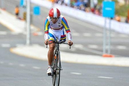 Cirio Molina gana diploma en ciclismo de paraolímpicos