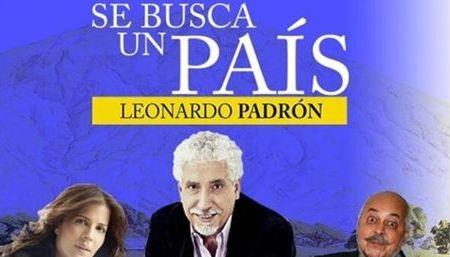 Se Busca un País de Leonardo Padrón se presentará en Estados Unidos
