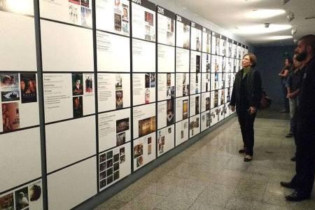 Trasnocho inaugura mural con breve historia de sus 15 años