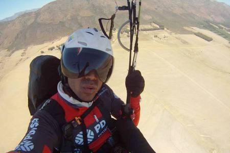 Paracaidista venezolano se tituló campeón de Abierto Internacional