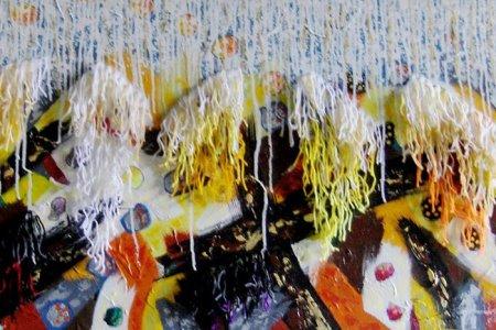 Tres artistas larenses exponen en España