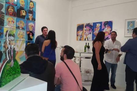 Edo ilustra en Miami con su nueva exhibición