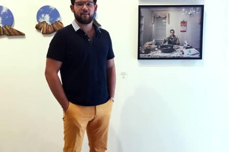 Francisco González exhibió su trabajo en Miami