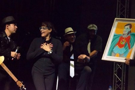 Soraya Rojas, una artista detrás del escenario